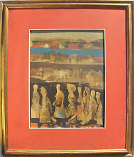 Anne JENNESS SAPORETTI (San Francisco 1914–Florida 1984) Oil on masonite 1972