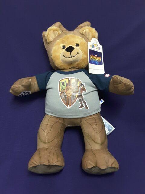 Build A Bear Guardians of The Galaxy Teenage Groot Bear Build-A-Bear