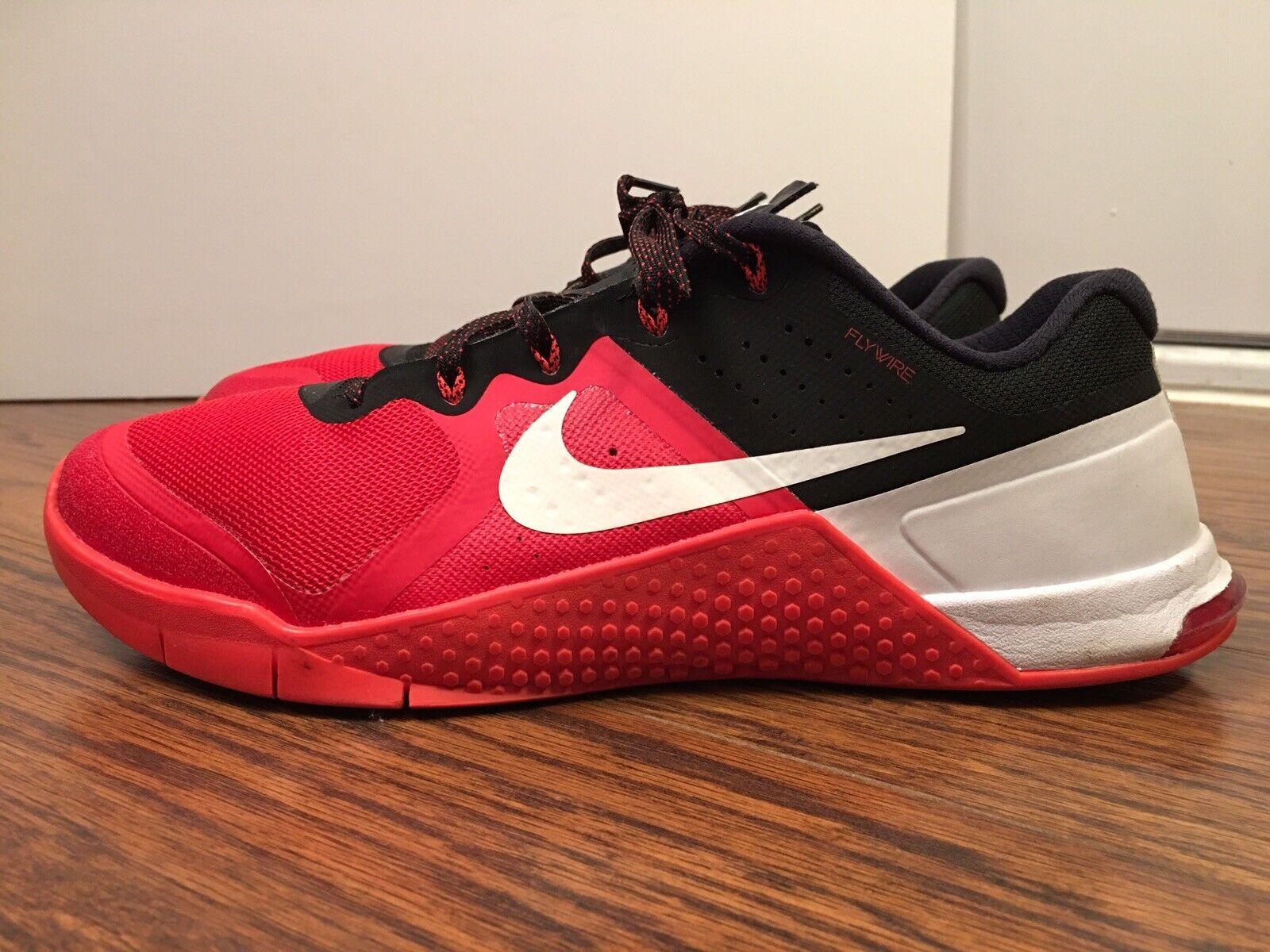 Nike Metcon 2, 819899-610, para hombres de capacitación cruzada zapatos de levantamiento de pesas, TAMAÑO 12