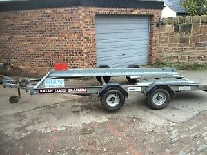 Details about car transporter TRAILER HIRE 13'x6' Wirral