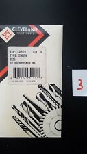 Cleveland Parabolic Taper C05123 2565tn 37 104 Hss Tin Drill Bits
