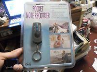 Pocket Note Recorder By Spectra Pr-6