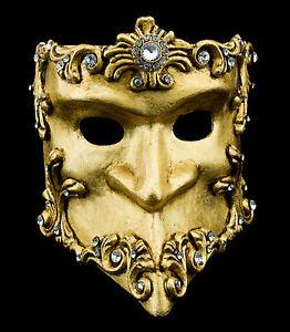 Maschera-Di-Venezia-Bauta-Barocco-Dorata-Autentica-Carnevale-Veneziano-150