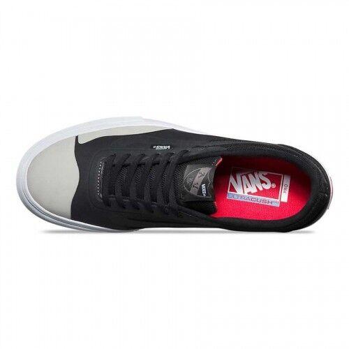 Vans AV RapidWeld Pro B noir Light Gris Skate Chaussures hommes 7 Skater New NIB