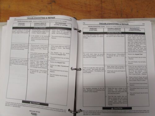 Metalworking Manuals, Books & Plans Lincoln Electric Ideal Arc SP ...
