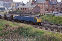 British Rail Class 47 47357 Warrington Arpley 24/07/85 Rail Photo