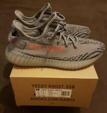 adidas Yeezy Boost 350 V2 Beluga 2.0 Grey Orange Ah2203 Size