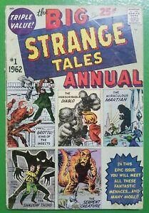 Strange-Tales-Annual-1-Jack-Kirby-Atlas-Zenith-Publishing-1962-GD