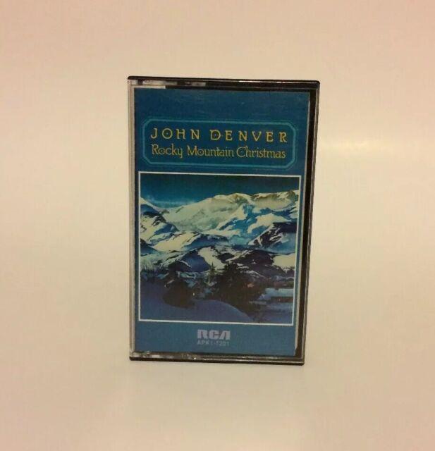 John Denver Rocky Mountain Christmas Cassette Tape 1975 Rca