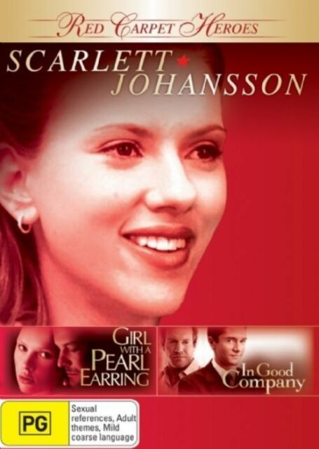 Red Carpet Heroes - Scarlett Johansson (DVD, 2008, 2-Disc Set)
