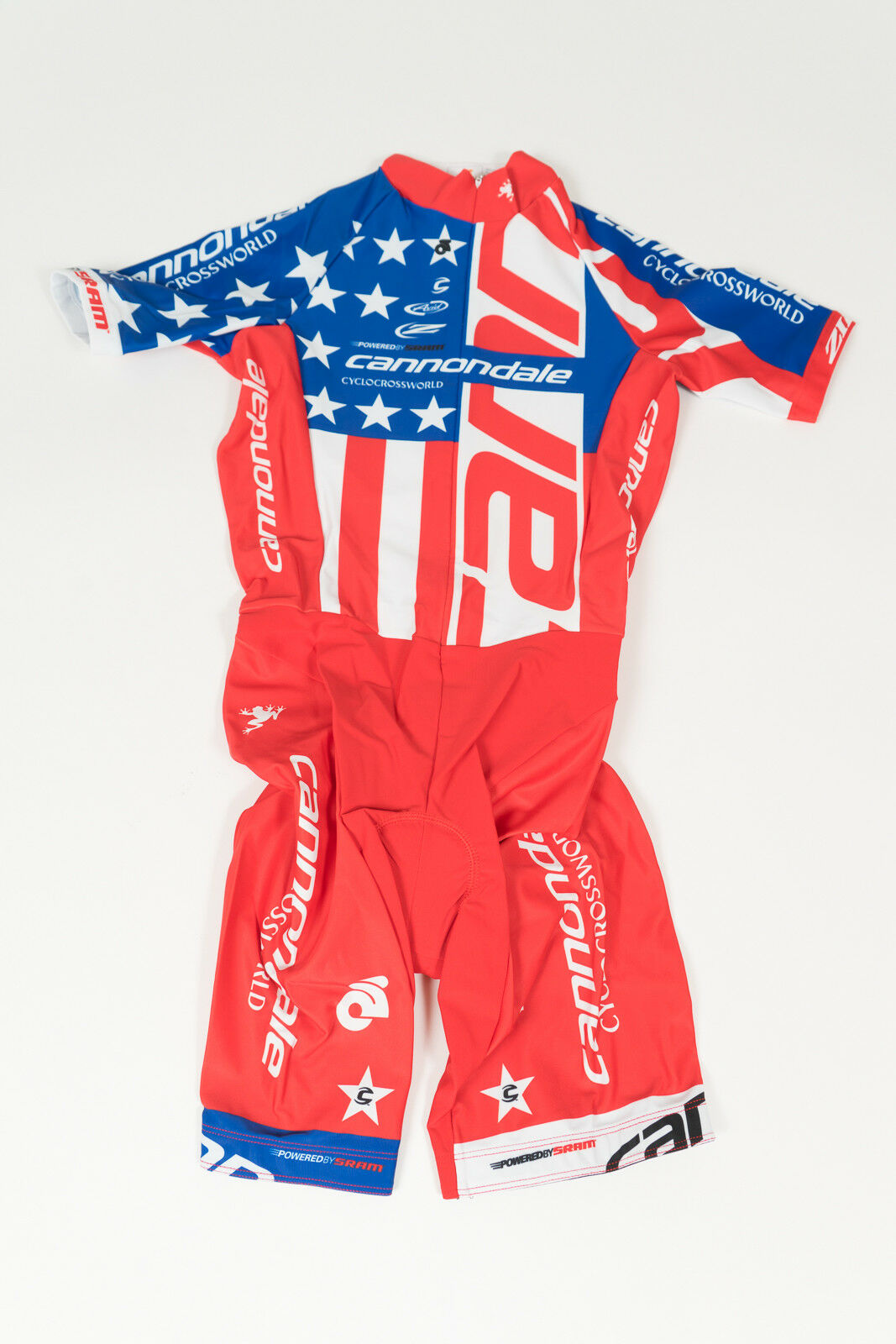New 2017 Women's Champ Sys Cannondale CX Nat'l Champ SS Skinsuit, Red, XS