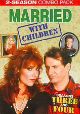 Married... With Children: Seasons Three and Four (2014, 4-Disc Set)FREE SHIPPING