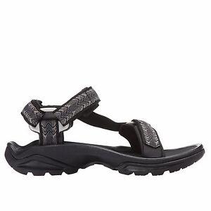 80d25479f1f Mens Teva Terra Fi 4 Sport Hiking Sandal Cross Terra Black Textile ...