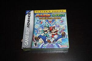 Mario Luigi Superstar Saga Pc Nintendo Game Boy Advance Gba New