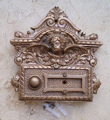 Messing Haustüre Antikladl Klingel 1 Brass Door Bell Tür Türklingel K11P