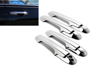 Chrome 4 Door Handle Cover Covers For 2003-2007 Honda Accord