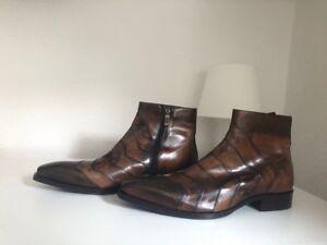 Details zu Jo Ghost Herren Stiefel Boots Stiefeletten Business Schuhe Neu Original