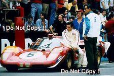Jacky Ickx Ferrari 512S Le Mans 1970 Photograph
