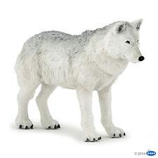 Papo 50195 Polarwolf 10 cm Wildtiere