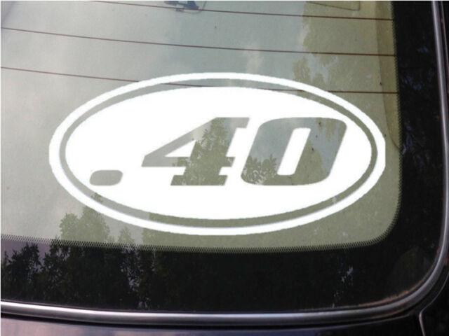 .40 gun sticker decal hunting sticker decal *C124*