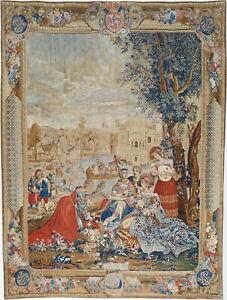 Gobelin-Teppich-Rug-Carpet-Tapis-Tapijt-Tappeto-Alfombra-Orient-Perser-Wand-Bild