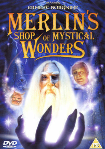 Merlin's Shop of Mystical Wonders DVD (1996) Ernest Borgnine KIDS PG MOVIE !