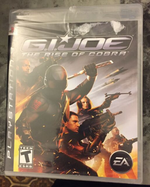 G.I.Joe the Rise of cobra ps3 game