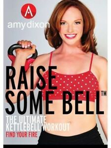 AMY DIXON RAISE SOME BELL THE ULTIMATE KETTLEBELL WORKOUT DVD NEW SEALED