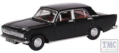 BNIB OO GAUGE OXFORD 1:76 76ZEP012 Ford Zephyr Black Car