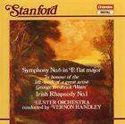 Stanford Handley Ulster Orchestra Symphony 6 Irish Rhapsody 1 CD