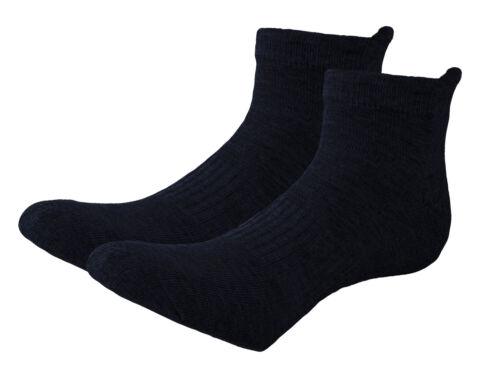 Laufsocken Herren 4 Paar gepolsterte Fitness-Socken Wandern Trekkingsocken 39-46