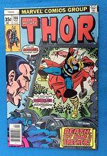 Thor 268  February, 1978  vs Damocles   Simonson/De-Zuniga art  VF/NM