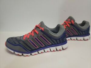 Me sorprendió Extra dolor  Adidas Women's Clima Cool Aerate 2 Gray/Red Zest Running Shoes Sz 8.5  ADIWEAR   eBay