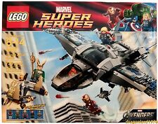 LEGO Marvel Super Heroes Quinjet Aerial Battle 6869 RETIRED Avengers NIB Sealed