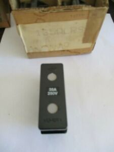 Mem memera 30amp rewireable fuse holder and shield.