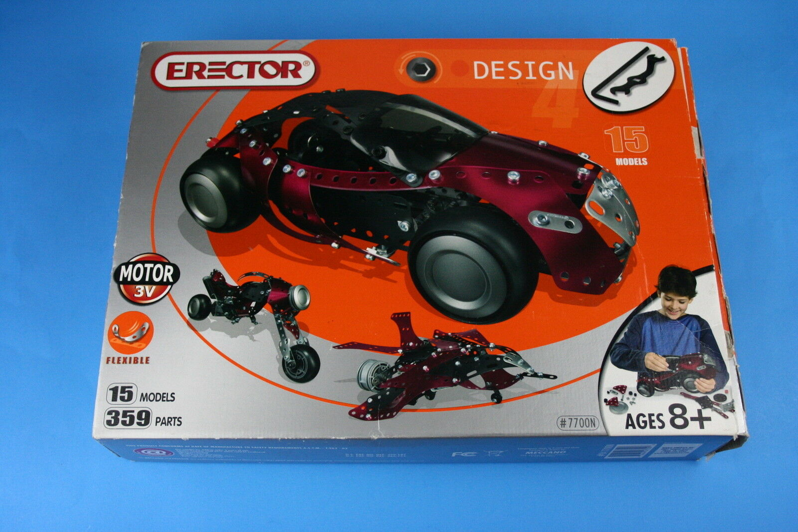 Meccano Erector N Set - 6 Parts Missing - Most parts are New Factory Sealed