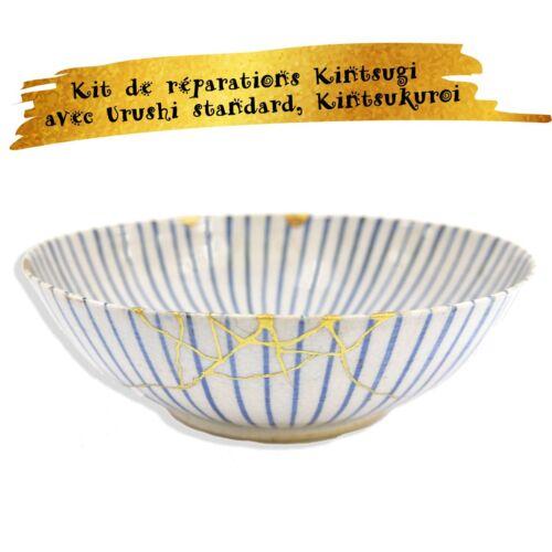 Kintsukuroi Kit de réparations Kintsugi avec Urushi standard