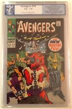 Avengers #54 PGX 7.5 Marvel 1968 C/OW Pages 1st App of Ultron in Cameo Not CGC