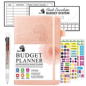Budget Planner, 2020-2021 Monthly Undated Bill Organizer ...