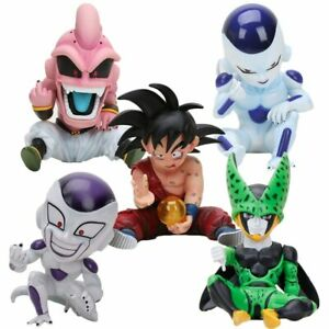11cm Anime Dragon Ball Fighter Z Majin Buu Cell PVC Action Figure Toys Model
