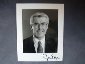 GOVERNOR-OF-ILLINOIS-JIM-EDGAR-HAND-SIGNED-AUTOGRAPHED-PHOTO-8x10-ORIGINAL