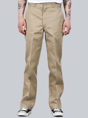 Dickies O-Dog Hose, Slim Straight Workpant 873, Khaki, Größen W32 - W40