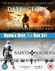 Saints Soldiers Days of Glory 2 Disc BLURAY BOXSET Blu Ray Region