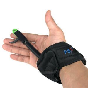 Adult-Archery-Compound-Bow-Release-Caliper-Aid-Strap-Bow-Trigger-Wrist-Strap