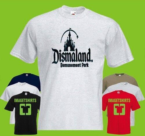 banksy dismaland Art Cool Graphic T Shirt Tee Shirt Print