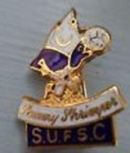 Southend United FSC enamel lapel badge