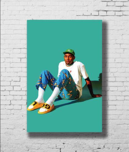 P-746 Art Tyler The Creator Odd Future Custom Singer Star Canvas Poster 24x36in