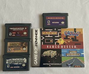 Gameboy-Advance-Rebelstar-Dungeons-amp-Dragons-Terminator-3-amp-Namco-Museum-Lot