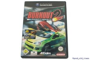 Burnout-2-point-of-Impact-German-Nintendo-GameCube-GC-Game-Top