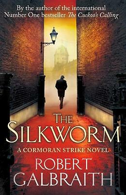 NEW The Silkworm By Robert Galbraith Paperback Free Shipping